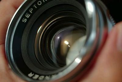 赛破铜 塞破铜 福伦达 septon 50 f2,胶卷机胶片机单反镜头