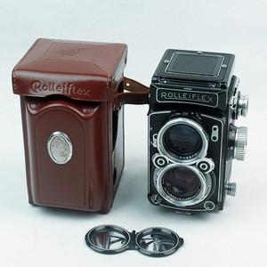 禄来/Rolleiflex 2.8C Xenotar 红三角 极上品!已售
