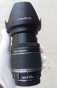 佳能 EF-S 18-200/3.5-5.6 IS 佳能18-200 佳能 18-200 IS 带光罩