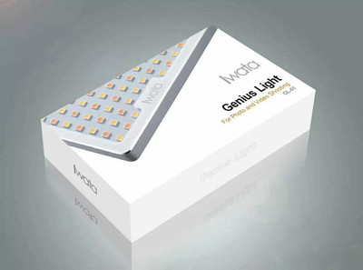 lwata/岩田 LED GL-01便携摄影灯补光灯可调色温#32905