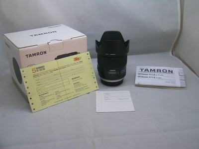出售 98新 腾龙 SP 35mmF1.8Di VC USD 佳能口 包装齐全 请看图片