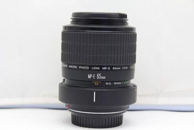 98新二手 Canon佳能 65/2.8 1-5x 微距镜头(2327)【深】可置换