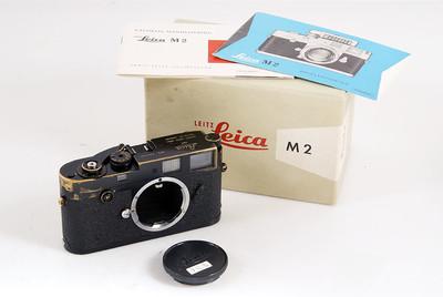 【大珍品】Leica/徕卡 M2 button原装黑漆 带对号包装 #HK7203
