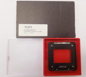 阿尔帕 ALPA 原厂飞思 玛米亚 数码背转接板 M口