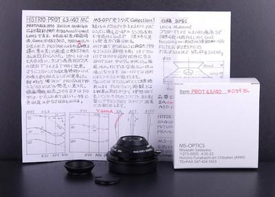 宫崎光学  40/6.3 MC 黑色微距 History系列#JP