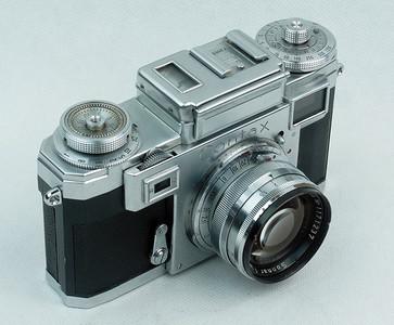 蔡司康泰时CONTAX机身+50mm f1.5