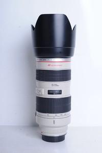 94新二手Canon千亿国际娱乐官网首页 70-200/2.8 L 小白变焦镜头(B0017)【京】