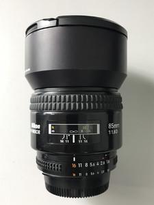 尼康 AF 85mm f/1.8D 成色较新  3090#【天津福润相机】