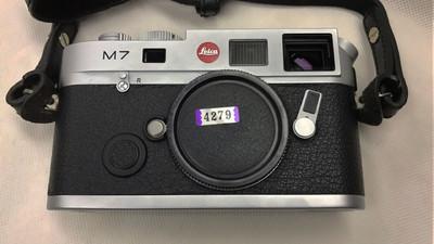 代友出徕卡M7 0.72 银色旁轴相机