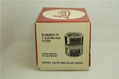 Leica Elmarit-R 90 mm f/ 2.8 过渡版 E55 锐度高包装