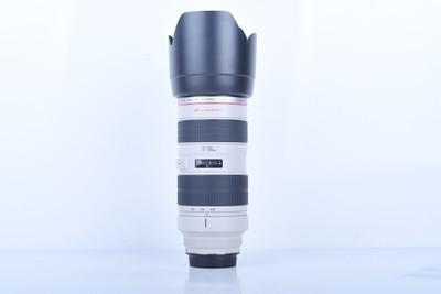95新二手Canon佳能 70-200/2.8 L 小白变焦镜头(B1561)【京】