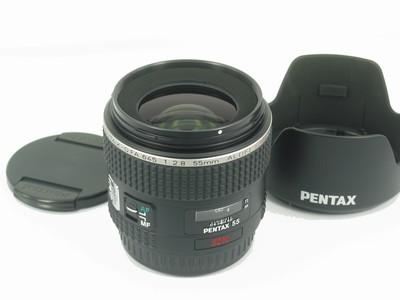 宾得 PENTAX D FA 645 55mm F2.8 新同样品无包装
