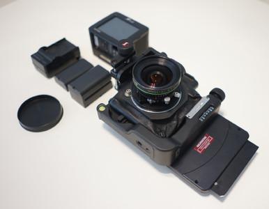 Silvestri Bicam+仙娜55 4.5 digital+M口后背接板
