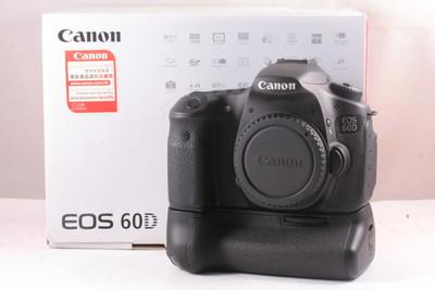 98/佳能/Canon EOS 60D机身+原装手柄 极新净 ( 全套包装 )