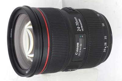 【全画幅标准变焦镜头】佳能 EF 24-70/2.8L II USM(NO:3096)