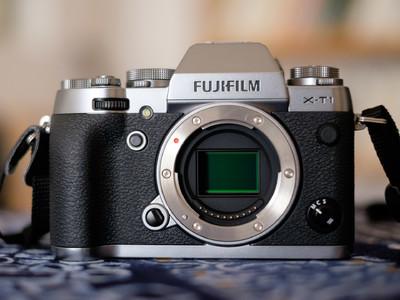Fujifilm 富士 X-T1 碳晶灰 机身 99新