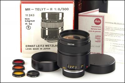 徕卡 Leica R 500/8 MR-TELYT-R 折返镜头 带包装