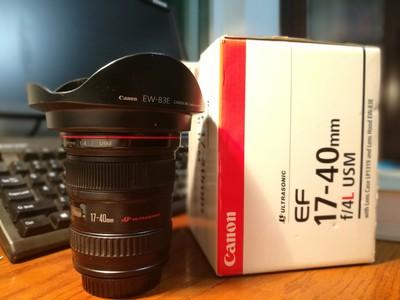 出自用闲置佳能 EF 17-40mm f/4L,或加价置换24-70/2.8