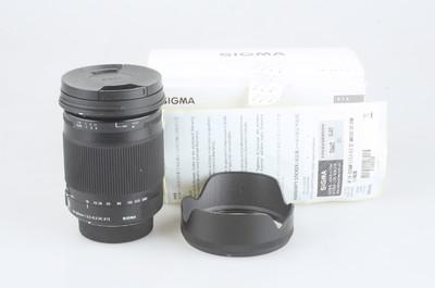 95新 适马 18-300mm f/3.5-6.3 DC Macro OS HSM 尼康口