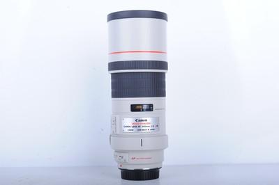 98新二手Canon佳能 300/4 L IS 定焦单反镜头(B0752)【京】