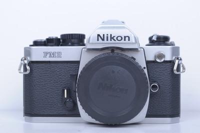 93新二手Nikon尼康 FM2 单机 胶片机 钛帘(B3770)【京】