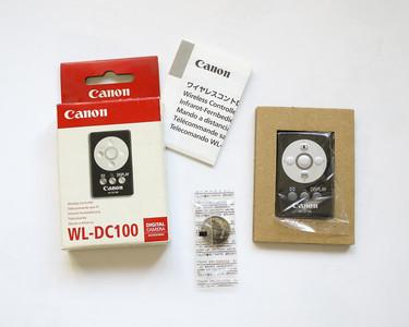 特价 佳能原装 WL-DC100 遥控器 佳能DC100 佳能遥控器 合影自拍