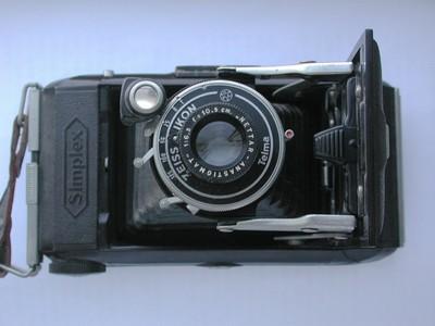 少见收藏品:唯一胶木制造的Zeiss蔡司皮腔机!511/2折叠机!