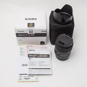 Sigma适马 35mm f/1.4 DG Art 35/1.4 佳能口 99新 NO:1587