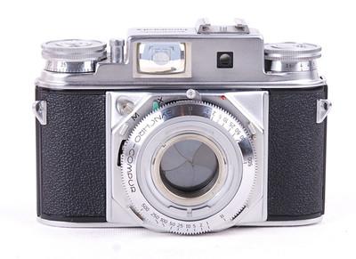 Voigtlander/福伦达 Prominent II 二代大眼睛银色机身#jp18849