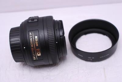 尼康 AF-S 35/1.8 G 35 mm F1.8 G DX 尼康35/1.8 尼康35/1.8G