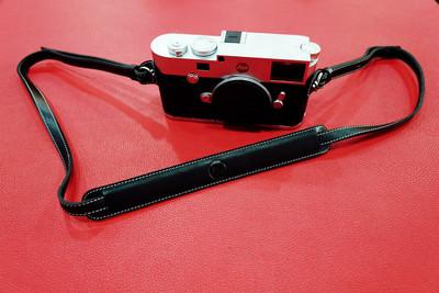 Leica徕卡M10 M-P M240 M9 ME Q X113 XV X2原装相机真皮肩带背带
