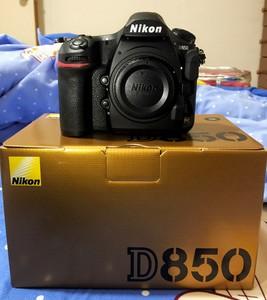 出售几乎全新D850
