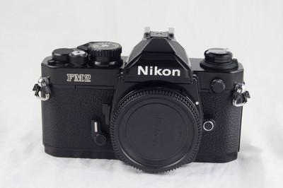 尼康 FM2 黑色钛帘 收藏好成色 Nikon FM2