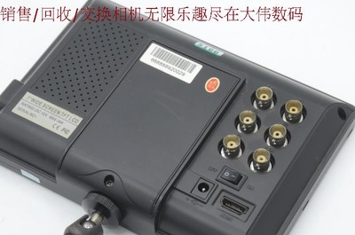 新到 9成新 HD高清监视器 带HDMII 便宜出售 编号8166