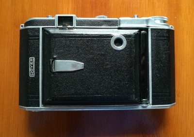 法国罗耶ROYER TELEROY八大张 SOM-BERTHIO 105/3.5镜头折叠相机