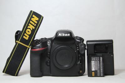 95新二手Nikon尼康 D800E 单机 快门9100次(T12288)【津】