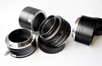 Leica Summicron-R 50 mm f/ 2.0 E43 及各种近摄接圈