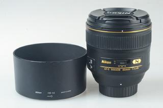 95新 尼康 AF-S 尼克尔 85mm f/1.4G