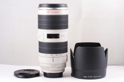 98/佳能 EF 70-200mm f/2.8L IS II USM 极新净 ( 全套包装 )