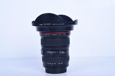 11新二手 Canon佳能 17-40/4 L USM 广角镜头(B3623)【京】
