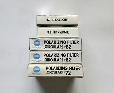 美能达 原厂天光镜 AC 1B 62mm  美能达 CPL 原厂偏振镜 清仓特价