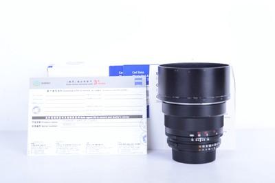 97新二手 Carl Zeiss卡尔·蔡司 85/1.4 ZF.2尼康口(B2675)【京】