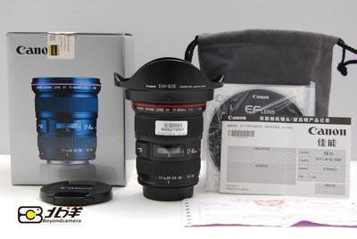 98新佳能EF17-40/4L行货带包装(BG06210001)