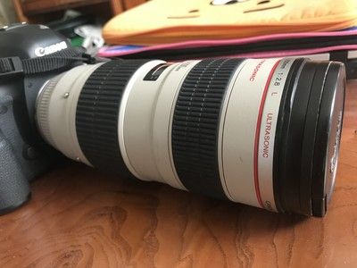 佳能 EF 70-200mm f/2.8L USM(小白) 不防抖的