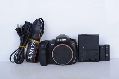 95新二手 Sony索尼 α200 A200单机 单反相机(B0178)【津】