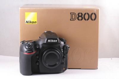 97/尼康 D800 全幅数码机 极新净(全套包装)快门数是2974次