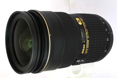 【全画幅标准变焦镜头】尼康 AF-S24-70/2.8G ED(NO:9192)