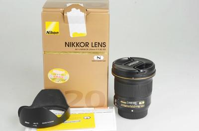 95新 尼康 AF-S 尼克尔 20mm f/1.8G ED