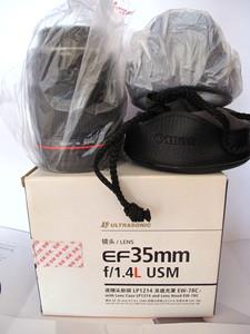 降价了行货佳能 EF 35mm f/1.4L USM