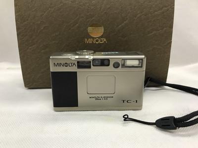 美能达TC1 Minolta tc1 28mm f3.5 经典旁轴TC1 口袋旁轴胶片